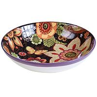 Certified International Paisley Floral 13 in Pasta Bowl