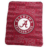 Logo Brand Alabama Crimson Tide Classic Fleece Blanket