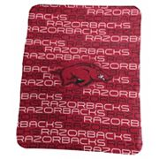 Logo Brand Arkansas Razorbacks Classic Fleece Blanket