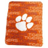 Logo Brand Clemson Tigers Classic Fleece Blanket