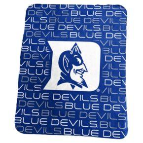 Logo Brand Duke Blue Devils Classic Fleece Blanket