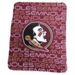 Logo Brand Florida State Seminoles Classic Fleece Blanket