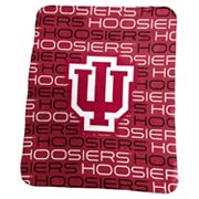 Logo Brand Indiana Hoosiers Classic Fleece Blanket