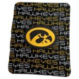 Logo Brand Iowa Hawkeyes Classic Fleece Blanket