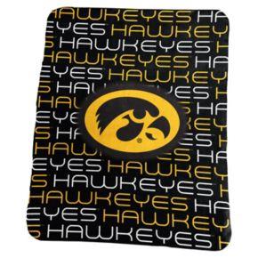 Logo Brand Iowa Hawkeyes Classic Fleece Blanket