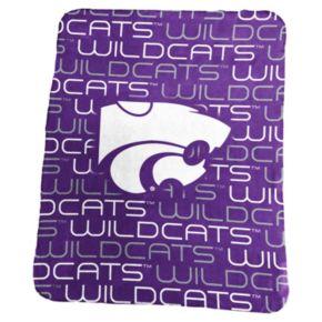 Logo Brand Kansas State Wildcats Classic Fleece Blanket