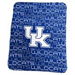 Logo Brand Kentucky Wildcats Classic Fleece Blanket