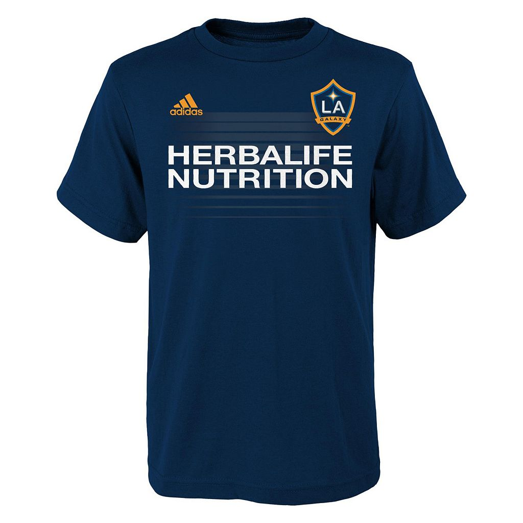 Boys 8-20 adidas Los Angeles Galaxy Steven Gerrard Name & Number Tee