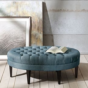 Madison Park Tufted Ottoman