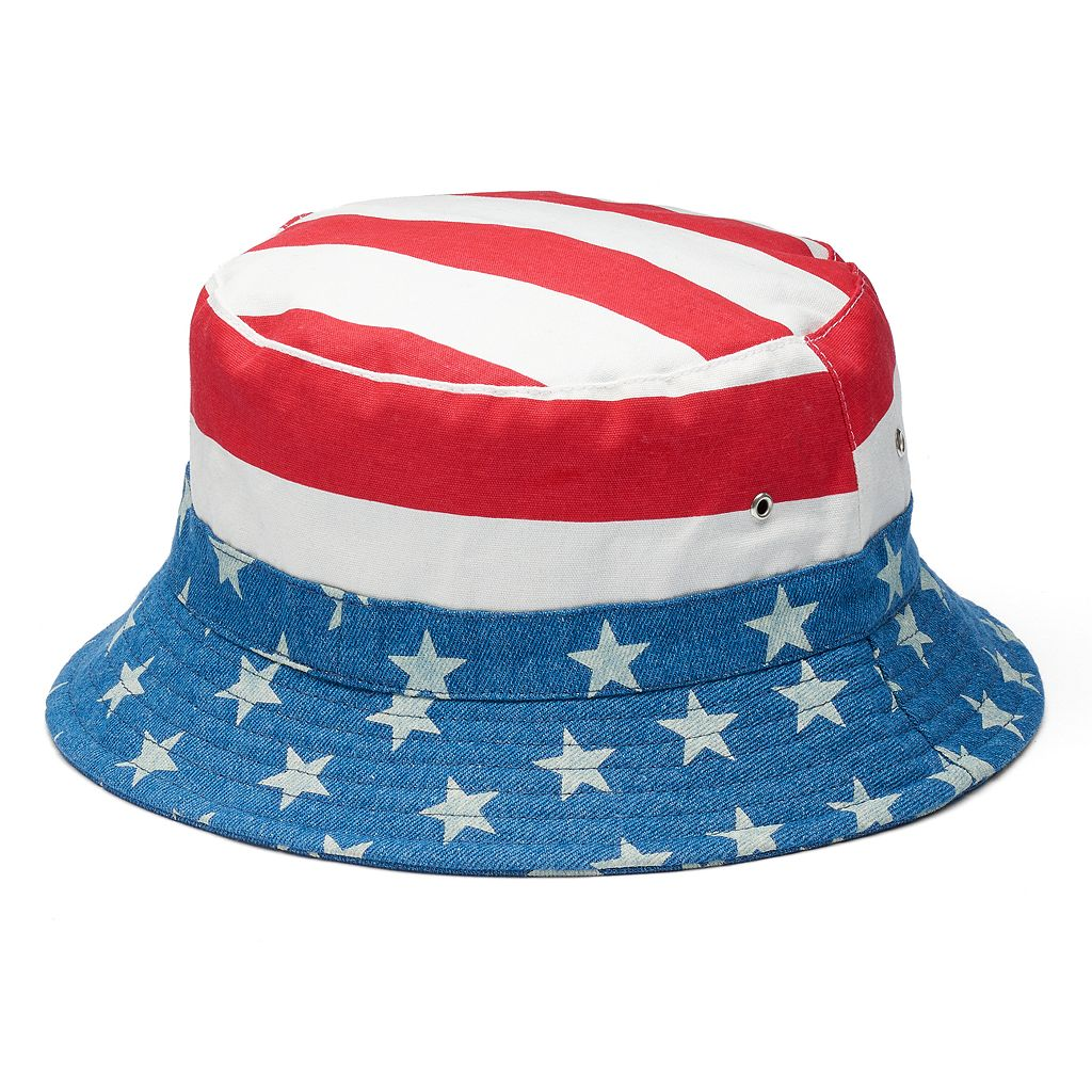 Men's Urban Pipeline® American Flag Bucket Hat