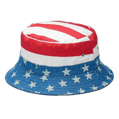 edfcf6b25d2f78 Men's Urban Pipeline™ American Flag Bucket Hat