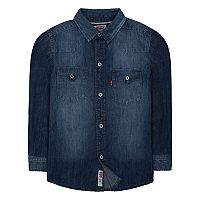 Boys 4-7 Levi's® Barstow Denim Western Shirt