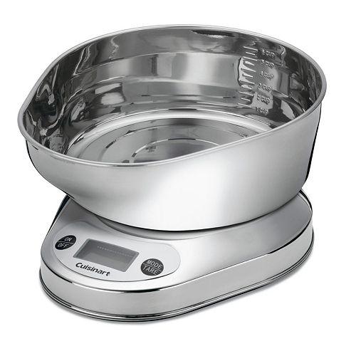 Cuisinart PrecisionChef Bowl Digital Kitchen Scale