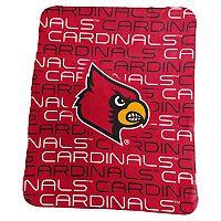 Logo Brand Louisville Cardinals Classic Fleece Blanket