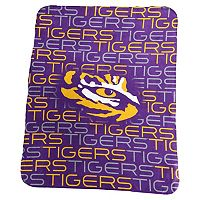 Logo Brand LSU Tigers Classic Fleece Blanket