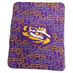 Logo Brand LSU Tigers Classic Fleece Blanket
