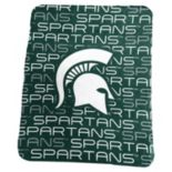 Logo Brand Michigan State Spartans Classic Fleece Blanket