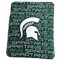 Logo Brand Michigan State Spartans Classic Fleece Blanket