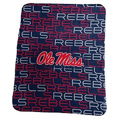 Logo Brand Ole Miss Rebels Classic Fleece Blanket