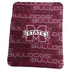 Logo Brand Mississippi State Bulldogs Classic Fleece Blanket