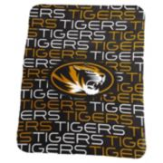 Logo Brand Missouri Tigers Classic Fleece Blanket
