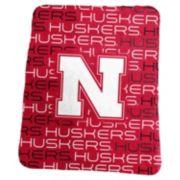 Logo Brand Nebraska Cornhuskers Classic Fleece Blanket