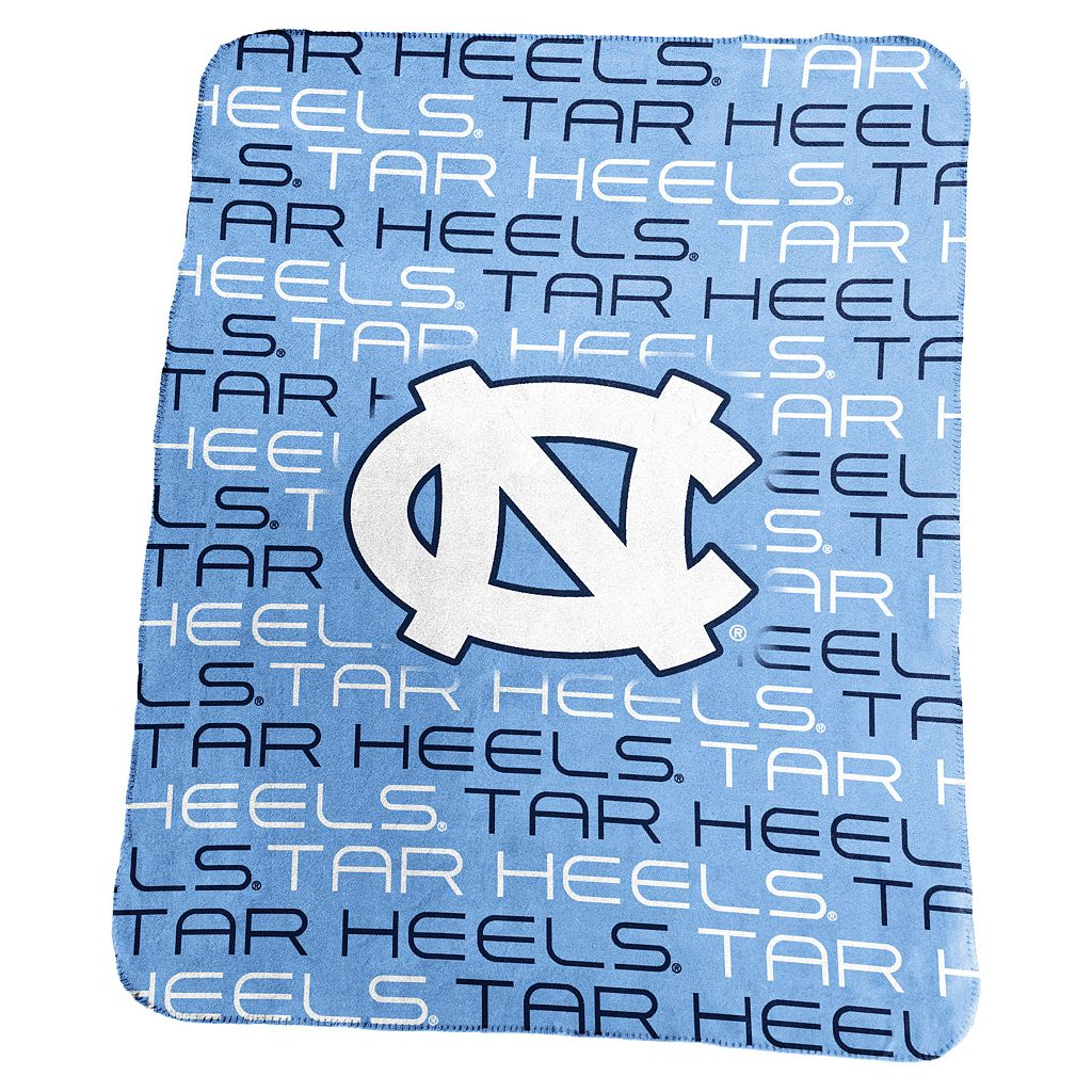 Logo Brand North Carolina Tar Heels Classic Fleece Blanket