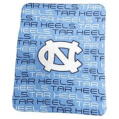 Logo Brand North Carolina Tar Heels Classic Fleece Blanket