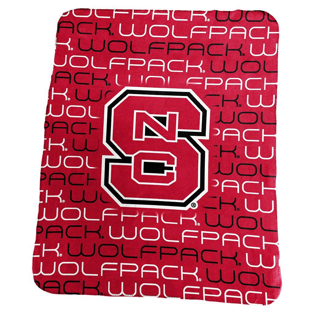 Logo Brand North Carolina State Wolfpack Classic Fleece Blanket