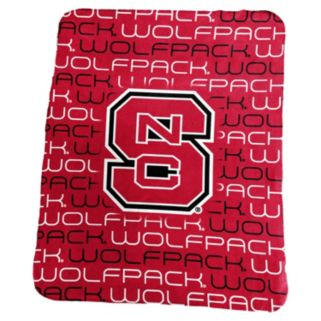 Logo Brand North Carolina State Wolfpack Classic Fleece Blanket