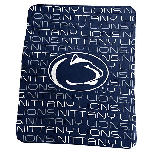 Logo Brand Penn State Nittany Lions Classic Fleece Blanket
