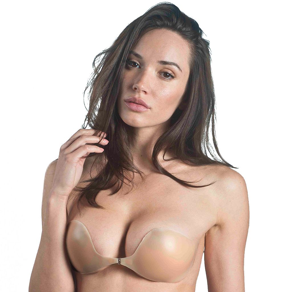 Maidenform Bras: Natural Adhesive Front Close Backless Strapless Bra M2240
