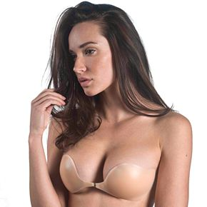 Maidenform Bras: Natural Adhesive Front Closure Backless Strapless Bra M2240