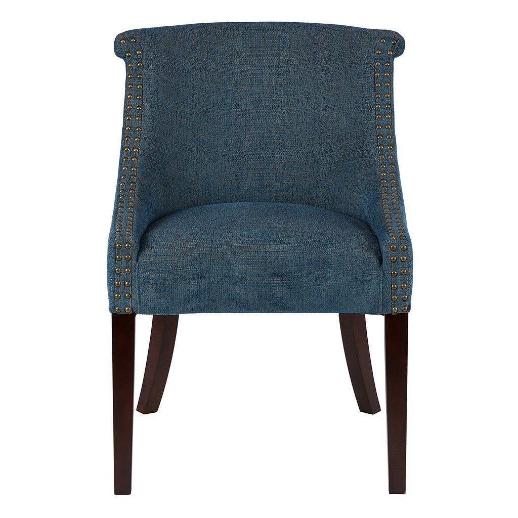 Madison Park Heidi Roll Back Accent Chair