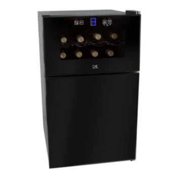 Kalorik 2-in-1 Mini Fridge & Wine Cooler