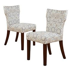 Madison Park Hayes Tufted Dining Chair 2 pc Set