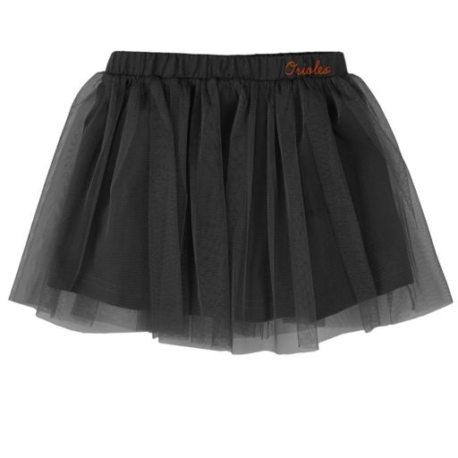 Baby Majestic Baltimore Orioles Fancy Play Bodysuit & Skirt Set