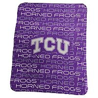 Logo Brand TCU Horned Frogs Classic Fleece Blanket