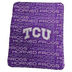 Logo Brand TCU Horned Frogs Classic Fleece Blanket