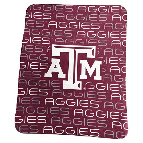Logo Brand Texas A&M Aggies Classic Fleece Blanket