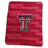 Logo Brand Texas Tech Red Raiders Classic Fleece Blanket