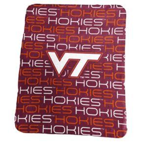 Logo Brand Virginia Tech Hokies Classic Fleece Blanket