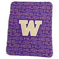 Logo Brand Washington Huskies Classic Fleece Blanket