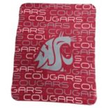 Logo Brand Washington State Cougars Classic Fleece Blanket