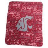 Logo Brand Washington State Cougars Classic Fleece Blanket