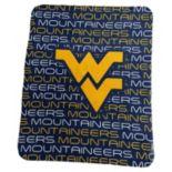 Logo Brand West Virginia Mountaineers Classic Fleece Blanket