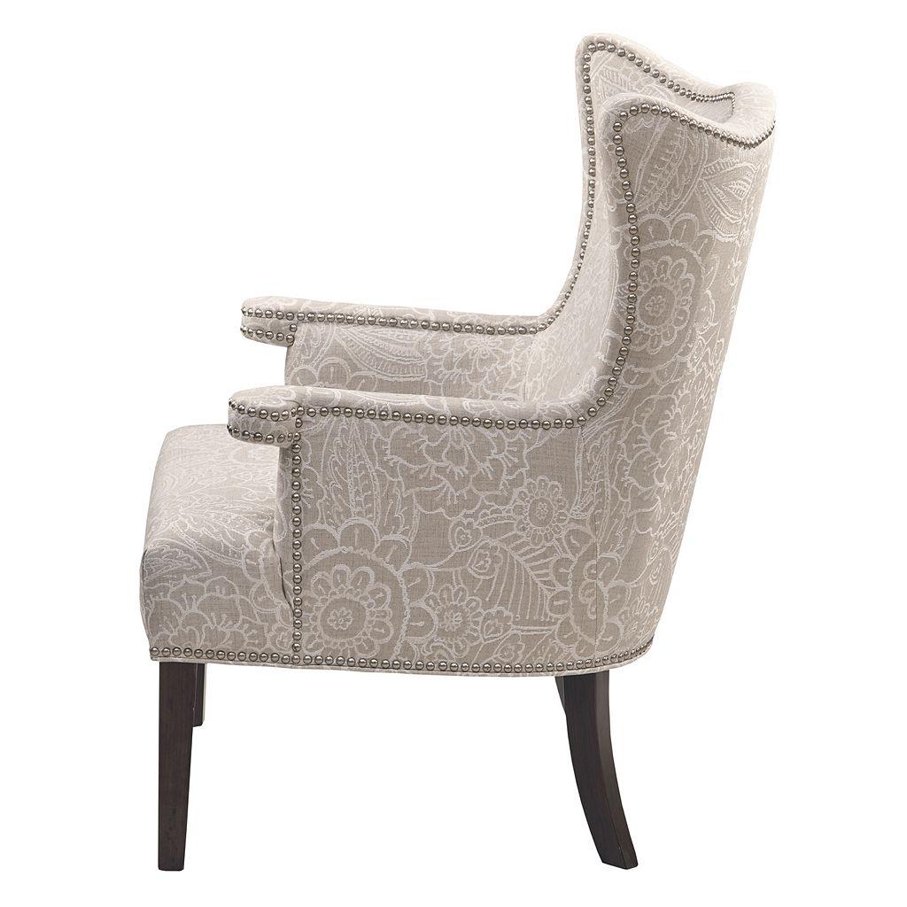 Madison Park Beret Floral Accent Chair