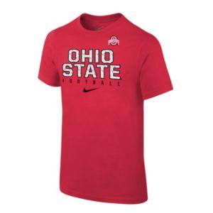 Boys 8-20 Nike Ohio State Buckeyes Facility Sideline Tee
