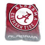 Logo Brand Alabama Crimson Tide Raschel Throw Blanket