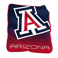 Logo Brand Arizona Wildcats Raschel Throw Blanket
